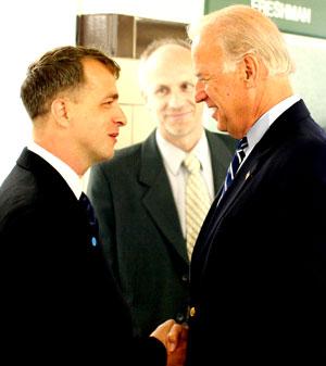 Congratulatory Letter to the Vice President-Elect Joseph Biden