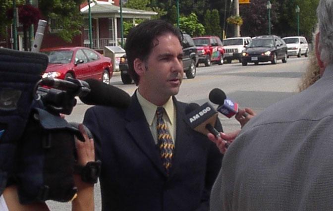 MP Brian Masse Press Conference on Srebrenica Genocide