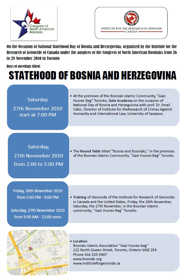 Statehood of Bosnia and Herzegovina