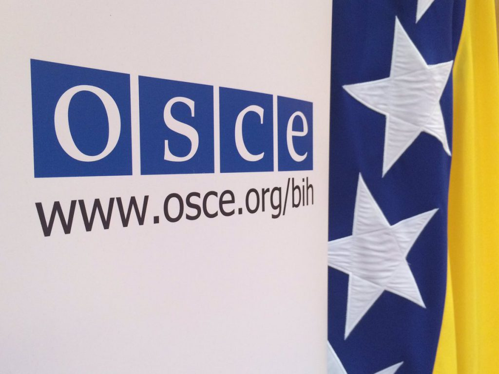 Importance of OSCE's mission in Bosnia and Herzegovina