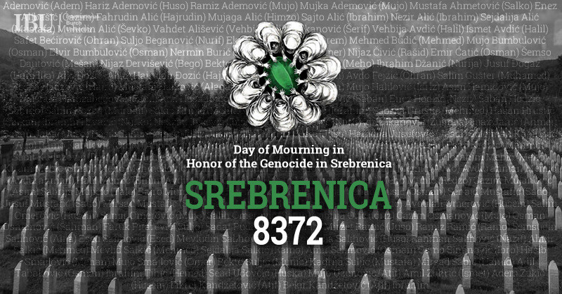 Saopćenje povodom 24-te godišnjice genocida u Srebrenici