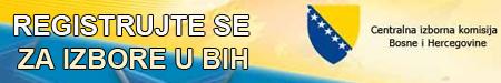 Registrujte se za izbore u BiH