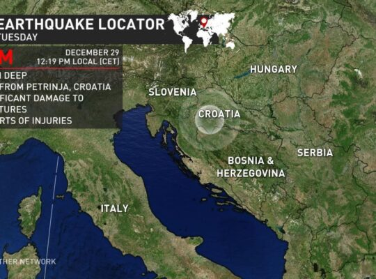 6.4 Magnitude Earthquake Hits Croatia and Surrounding Countries