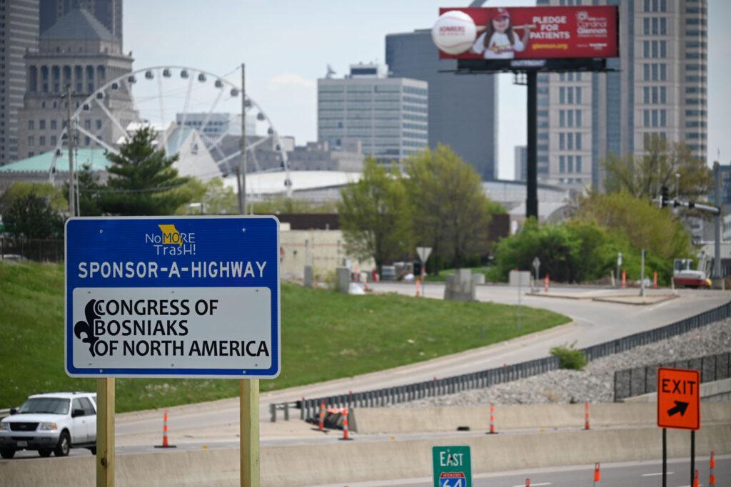 CBNA to sponsor highway I-64 in Saint Louis