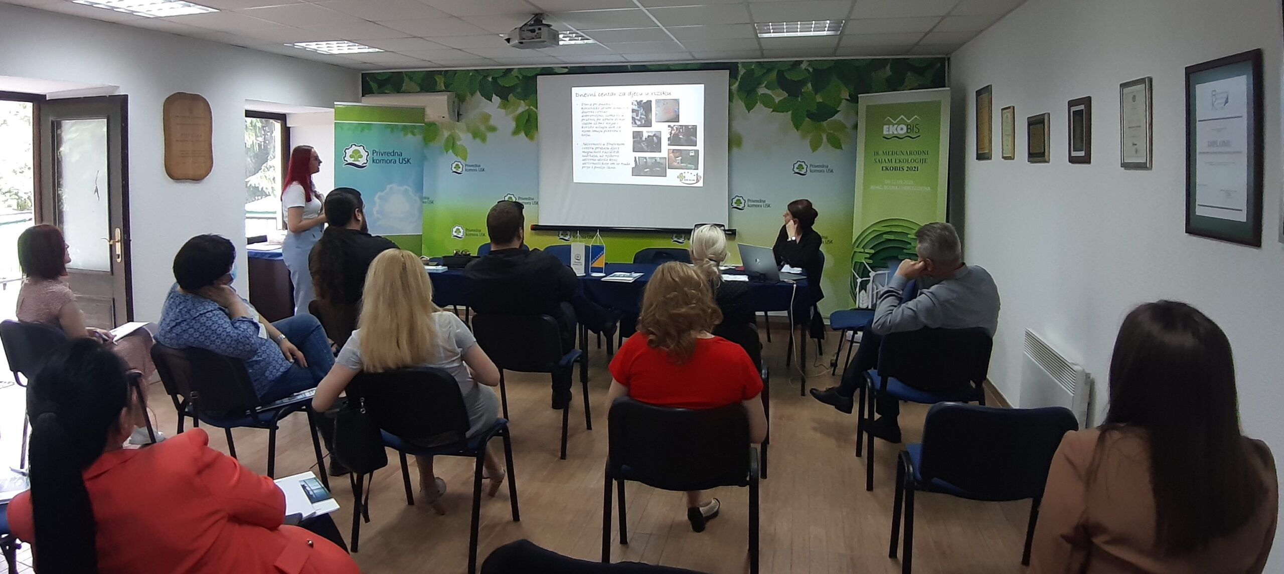 "CBNA sponsored program ""New Leaders of Una-Sana Canton"" commenced in Bihać"