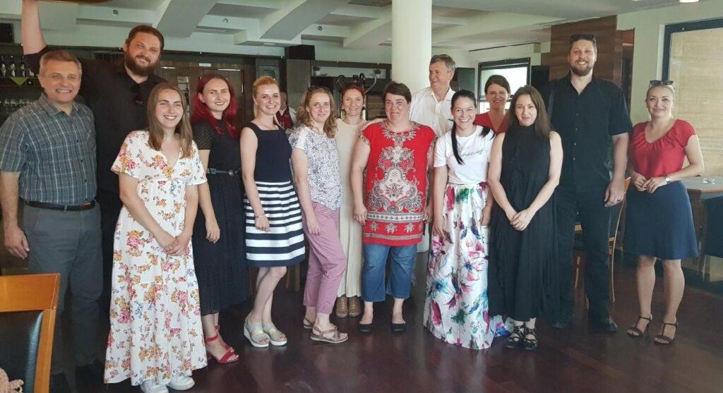 "CBNA celebrates graduates of the ""New Leaders of Una-Sana Canton"" program in Bosnia and Herzegovina"